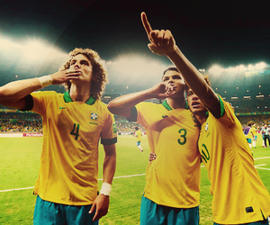 neymar, david luiz, and thiago silva image