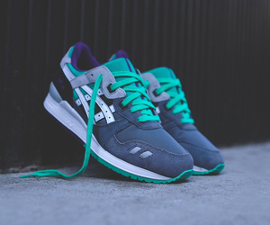 asics, grape, and green image