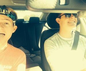 connor franta and ricky dillion image