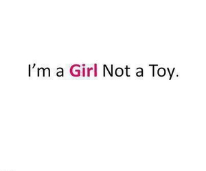 girl, toy, and quote image