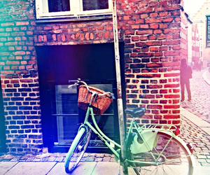 bicycle, streets, and wanderlust image
