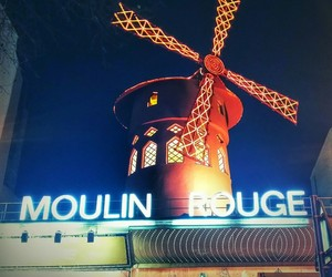europe, france, and moulin rouge image