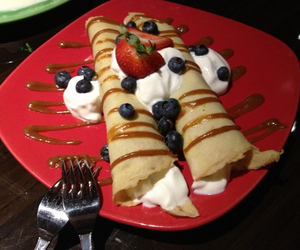 crepes and delicious image