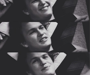 ansel elgort and augustus waters image