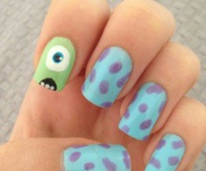nails and monster inc image