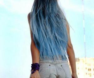 blue, grunge, and style image
