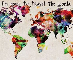 Dream, travel, and viajar image
