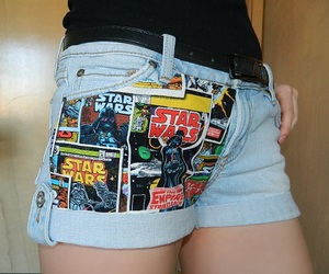 star wars, clothing, and diy image