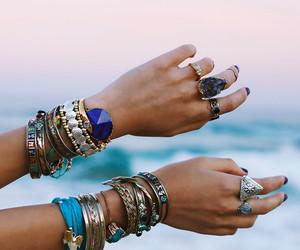 fashion, bracelet, and summer image