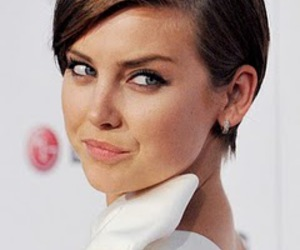 haircut, Jessica Stroup, and woman image