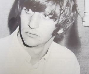 ringo starr, black and white, and cute image