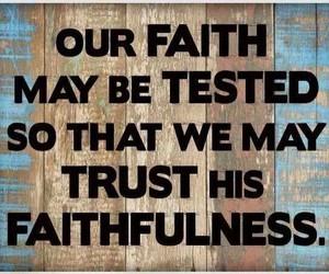god, hope, and trust image