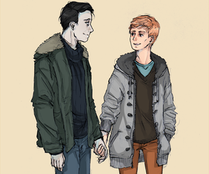 fanart, gays, and in the flesh image