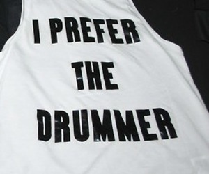 drummer, i, and the image