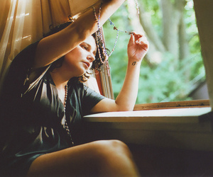 girl, window, and pretty image