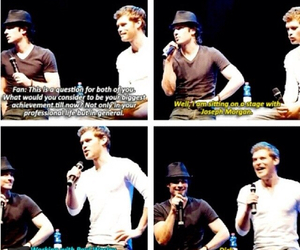 ian somerhalder, joseph morgan, and The Originals image