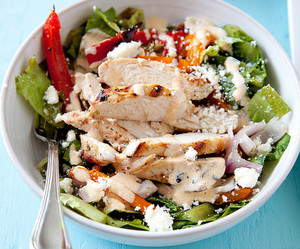 Chicken, poultry, and salad image
