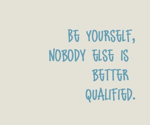 be yourself image