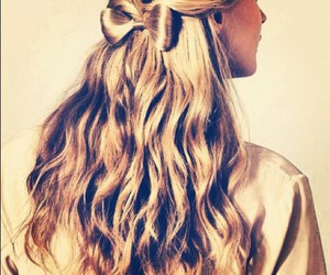 bow, hairstyles, and pretty image