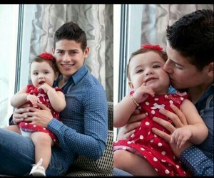 james rodriguez, salome, and world cup image