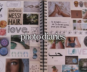 photo and diary image