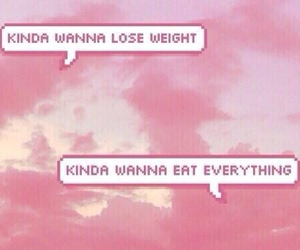 text, lose weight, and eat image