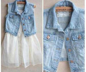 fashion, dress, and jeans image