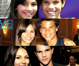 victoria justice and Taylor Lautner image