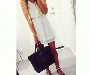 bag, outfit, and chic image