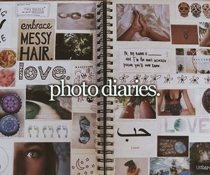 photo, diary, and dreams image