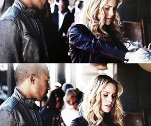 couple, The Originals, and claire holt image