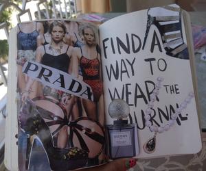 clothes, fashion, and perfume image
