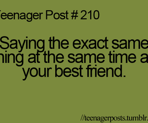 teenager post, best friends, and true image
