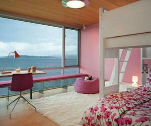 room, pink, and Dream image