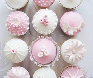 cupcakes, eat, and cute image