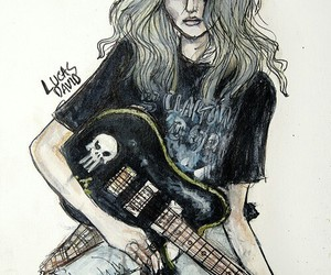 drawing, Taylor Momsen, and the pretty reckless image