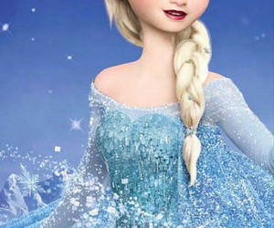alone, happy, and frozen image