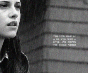 bella swan, beautiful, and black and white image