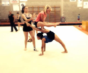 duo, gym, and acro image