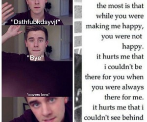 sad, connor franta, and o2l image