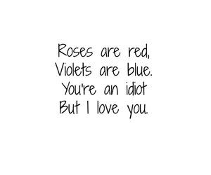 funny, poems, and roses image