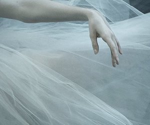 dancing, fragile, and grey image