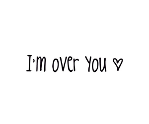quotes, over you, and love image