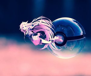 vocaloid, pokeball, and ia image
