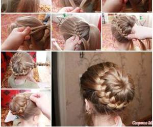 braids, diy, and hairstyle image