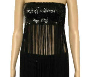 tassel, top, and sequin image