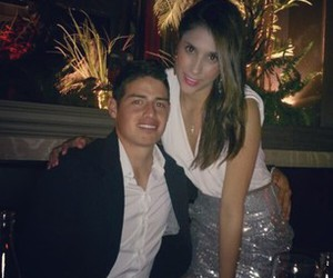 girlfriend, james rodriguez, and daniela ospina image
