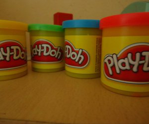 clay, colors, and playdoh image