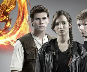 the hunger games, hunger games, and thg image