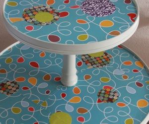 decoupage, diy, and furniture image